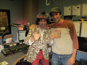 Matt and Nardwuar